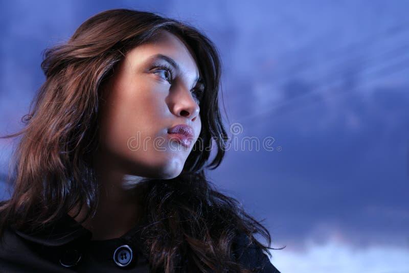 azjatykcia piękna kobieta obrazy stock