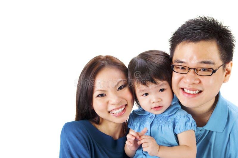 azjatykcia rodzina obraz stock