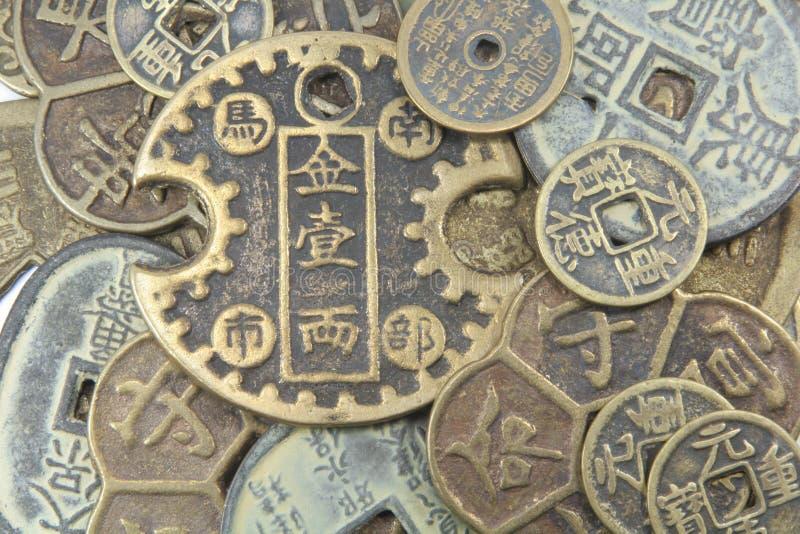 azjatykcia tło waluty fotografia stock