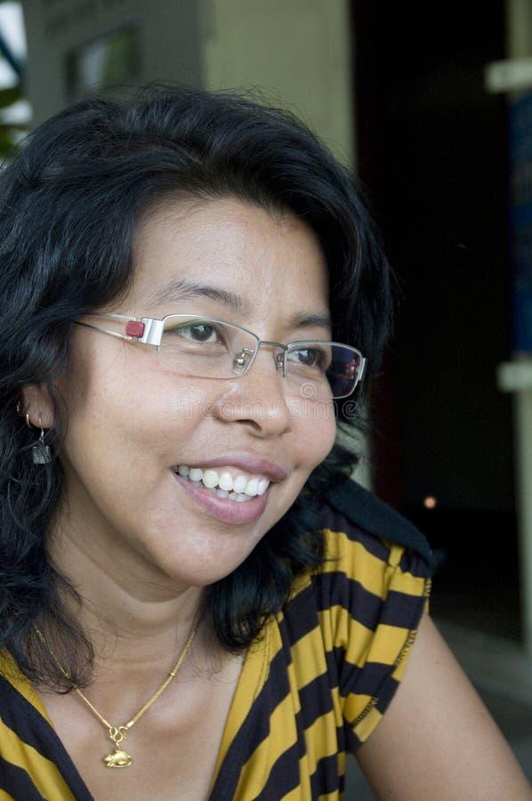azjatykcia współczesna kobieta zdjęcie stock