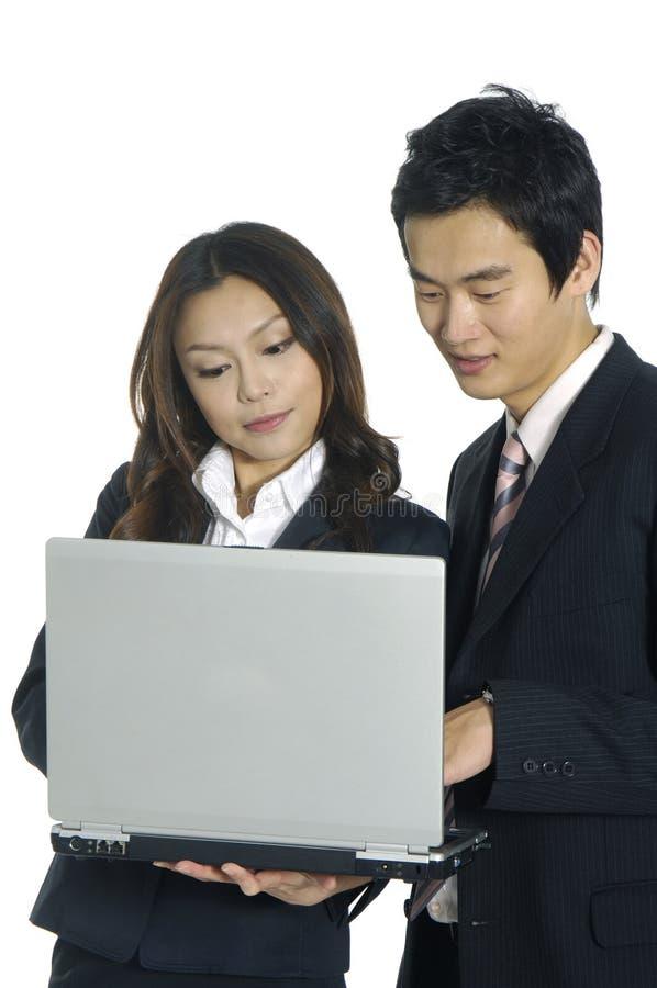 azjatykcie biznes drużyny obraz stock