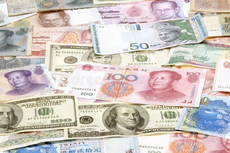 azjatykcie waluty obraz stock