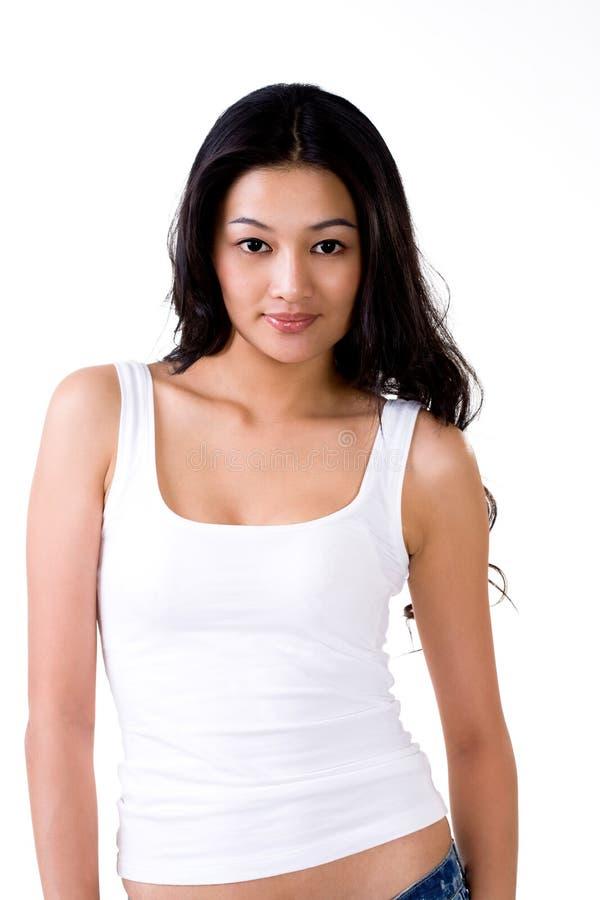 azjatykciej mody kobiety eleganccy potomstwa fotografia stock