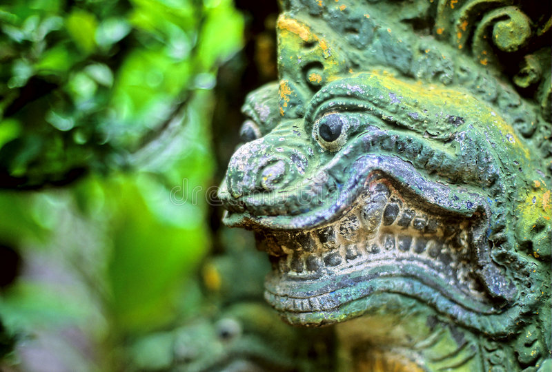 azji naga statua obrazy royalty free