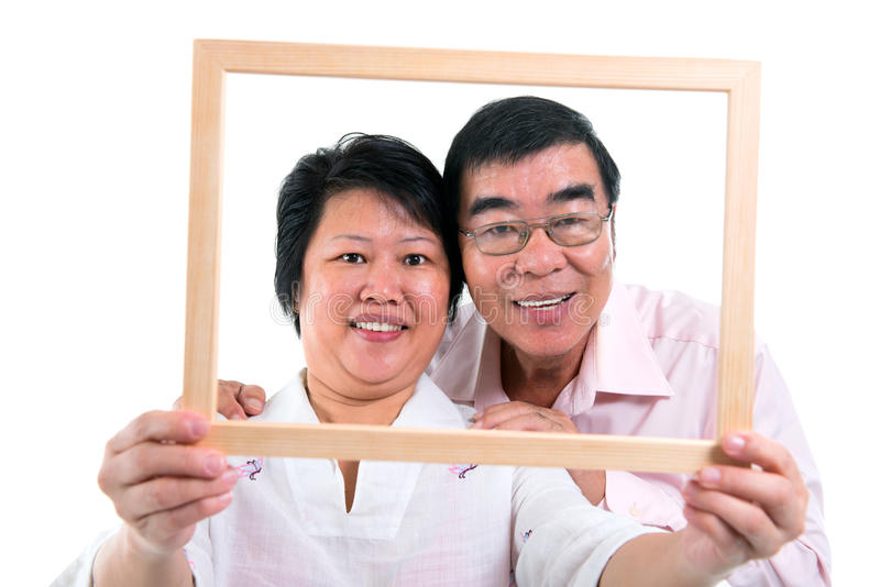 Azji Południowo Wschodniej para obrazy royalty free