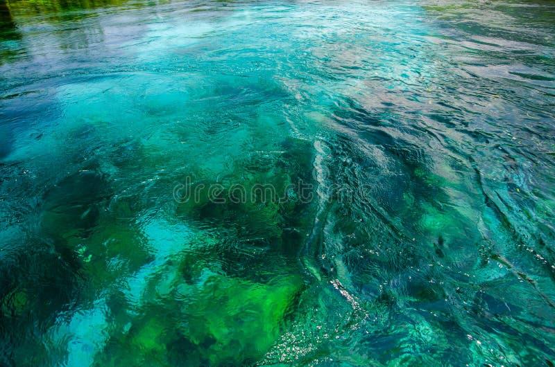 Azmak-Fluss von Ula/von Akyaka/von Mugla stockbild
