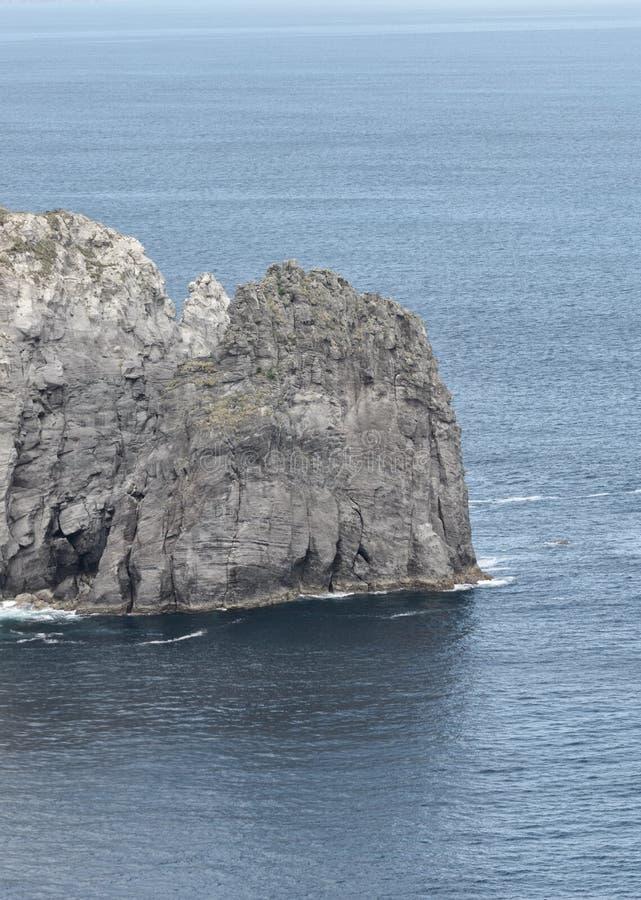 Azorean海岸 库存照片