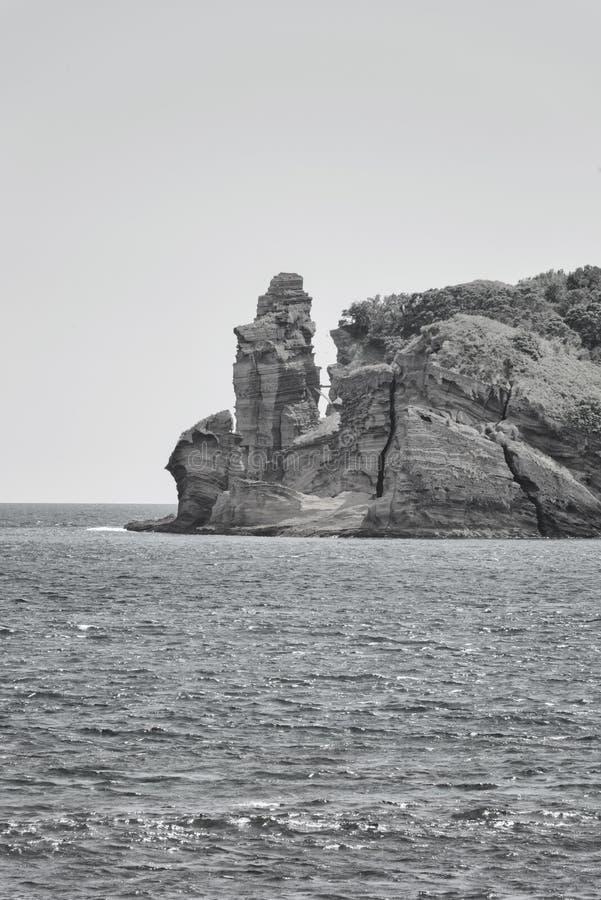 Azorean海岸 图库摄影
