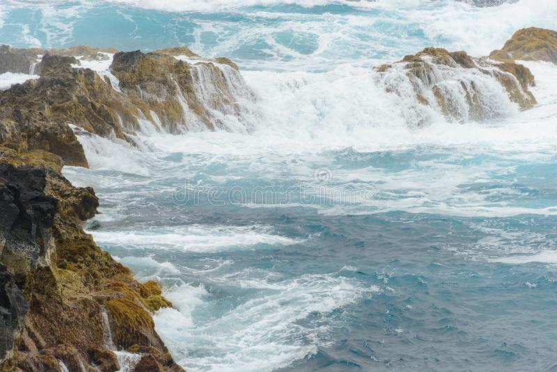 Azorean Coast royalty free stock photos