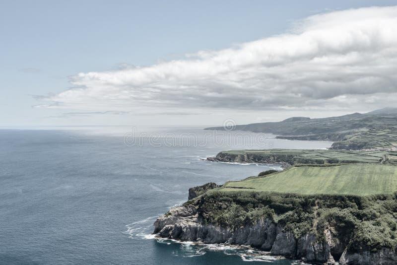 Azorean Coast royalty free stock photo