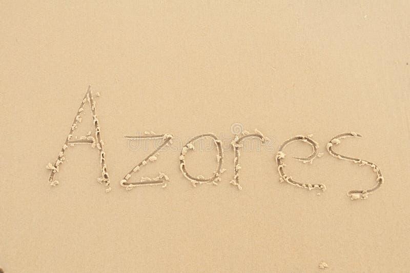 azoren lizenzfreies stockbild
