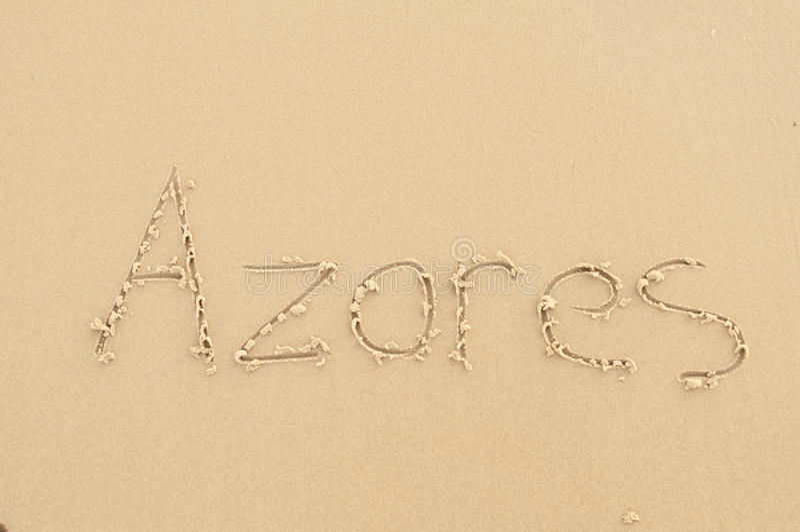 azores image libre de droits