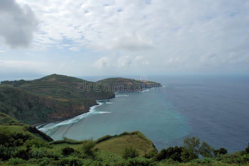 azory wybrzeża wyspy jeden obrazy royalty free