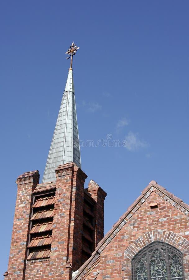Azotea de la iglesia foto de archivo libre de regalías