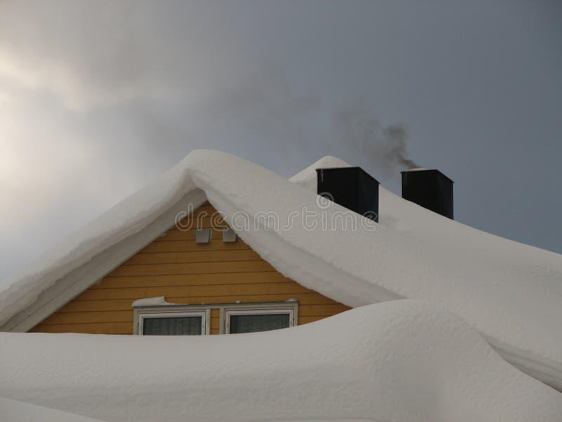 Azotea Nevado imágenes de archivo libres de regalías