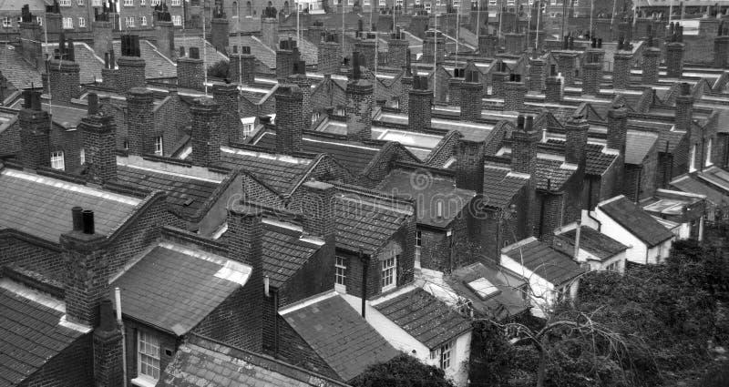 Azoteas de Londres foto de archivo libre de regalías
