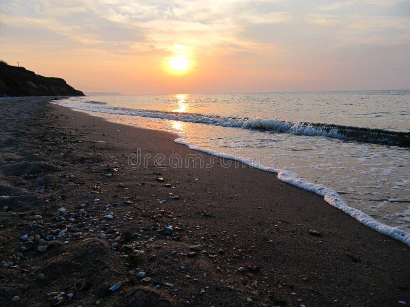 Azov hav royaltyfria bilder