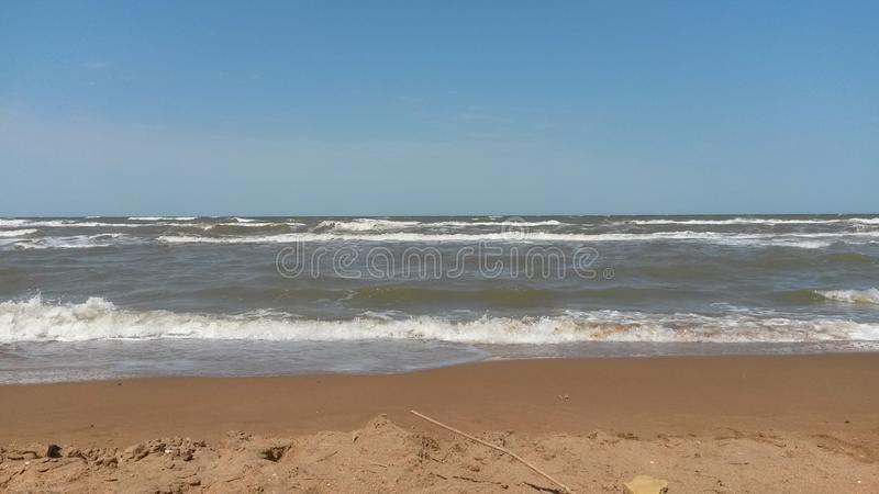 The Azov sea. Russia Azov sea stock photos