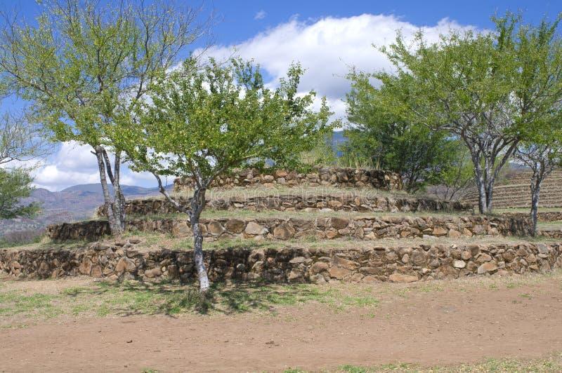 Azquelito Mound At Guachimontones Site Royalty Free Stock Photography
