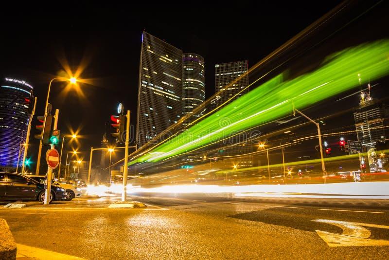 Azrieli, Тель-Авив, Израиль стоковые изображения rf