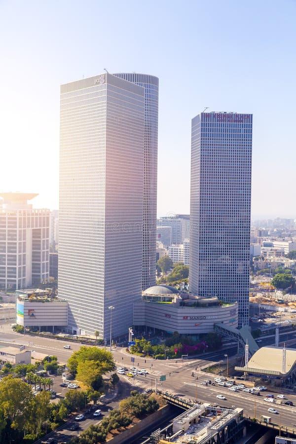 Azrieli mitt, Tel Aviv arkivbilder