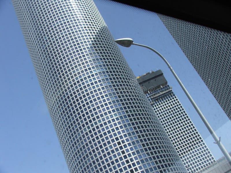Azrieli tower stock image