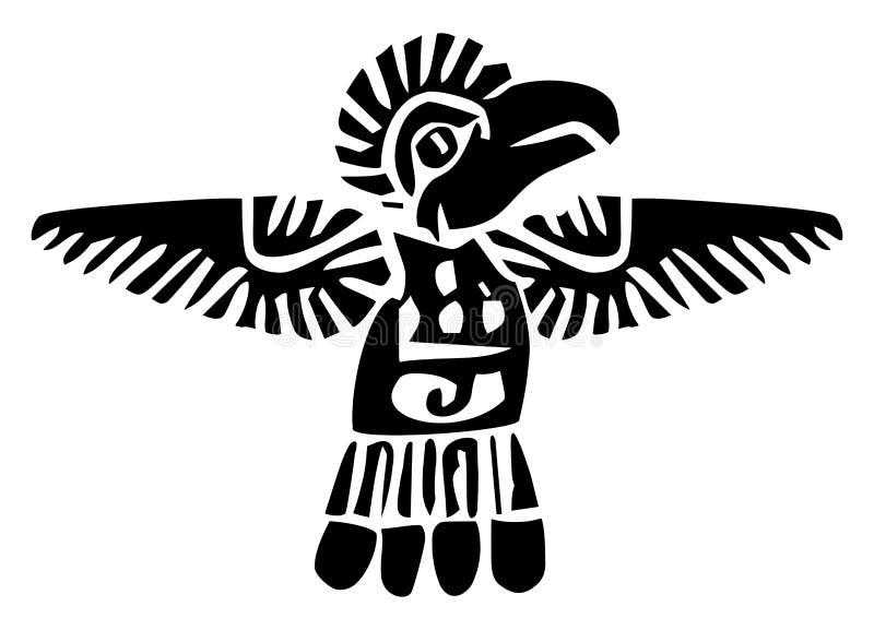 aztec royalty illustrazione gratis