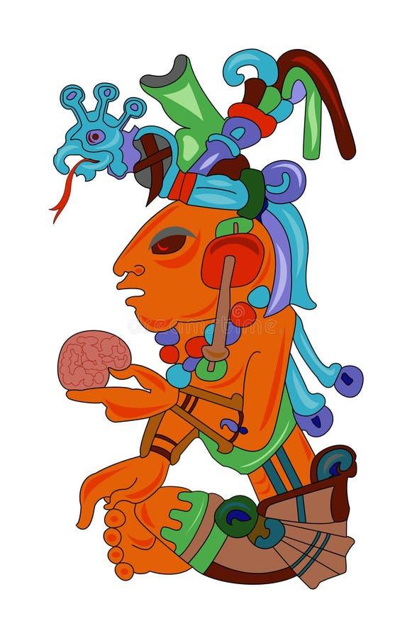 Aztec stock illustratie