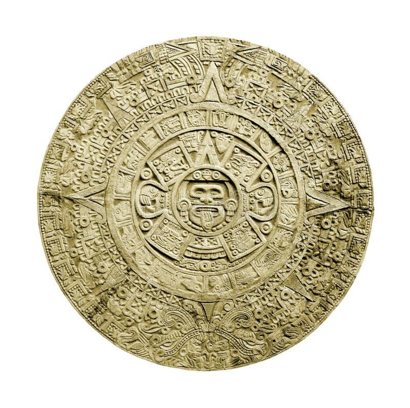 Aztec calendar stock photography