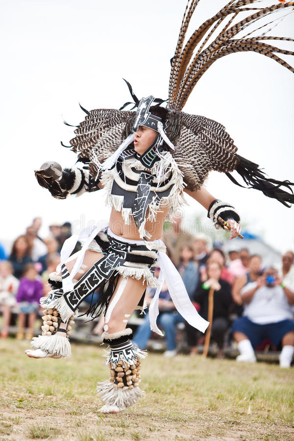 Aztec Dancer royalty free stock photography