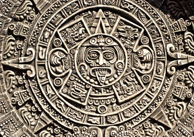 aztec kalendarz fotografia stock