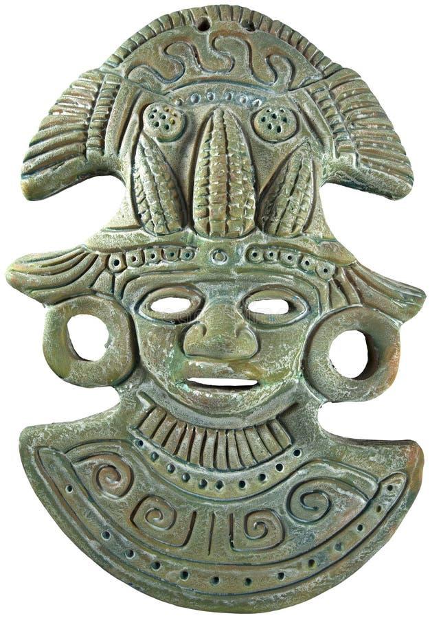 Aztec Mayan Maizegudmaskering - Mexico royaltyfria bilder