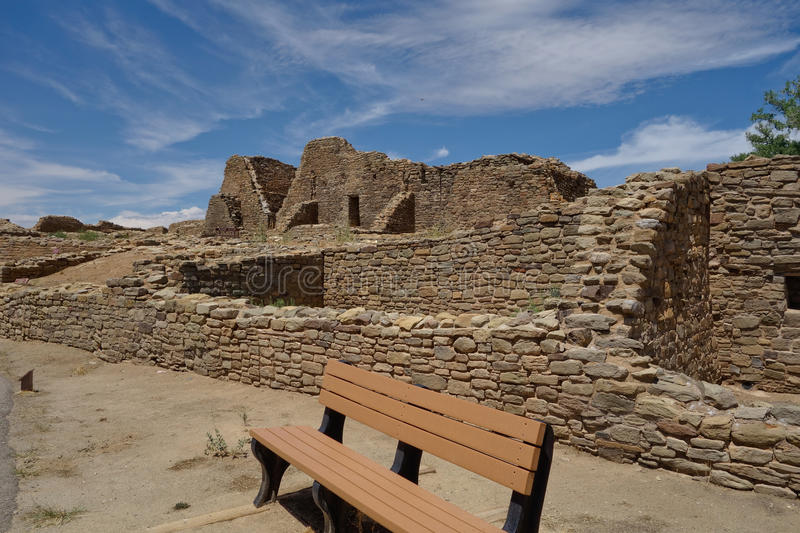 Aztec Ruins National Park New Mexico stock image