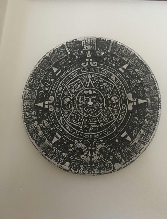 aztec słońce zdjęcie stock