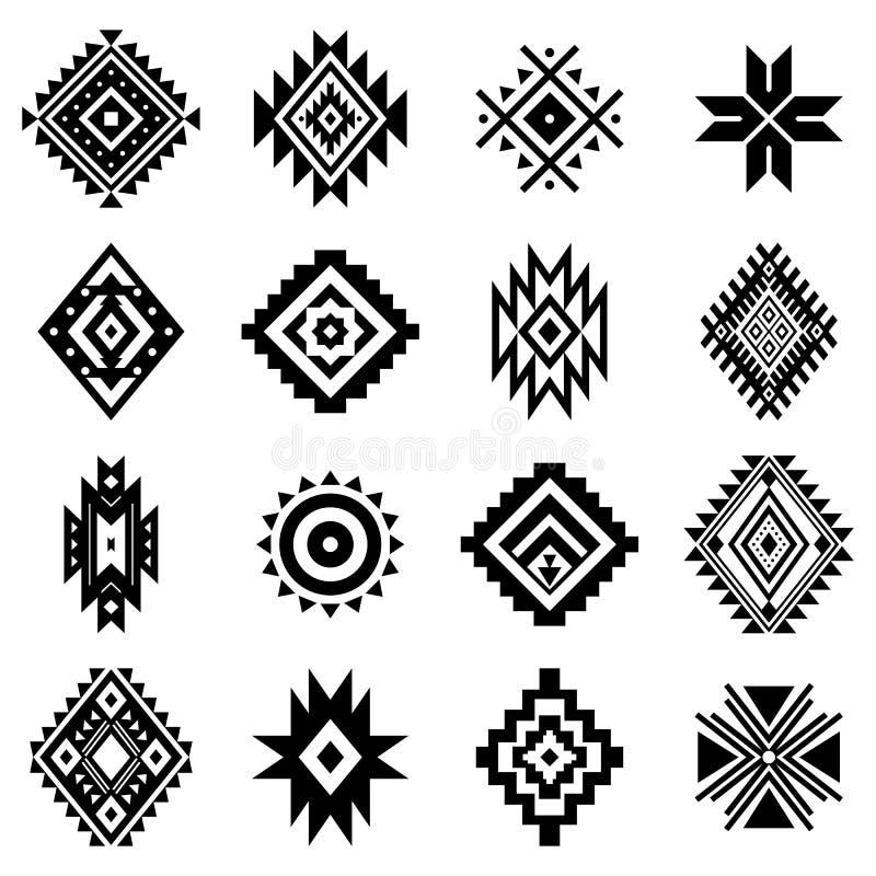 Free Aztec Vector Elements, Ethnic Ornaments. Royalty Free Stock Photo - 159439845