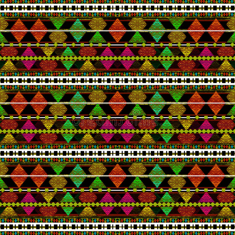 aztec wzoru styl obraz stock