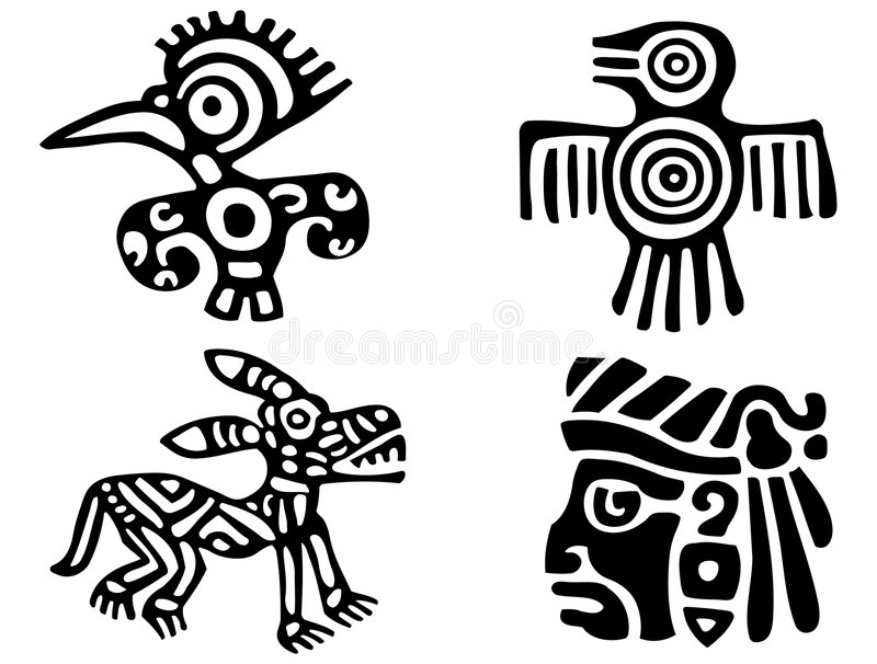 Download Aztecs stock vector. Illustration of american, abstract - 9084099