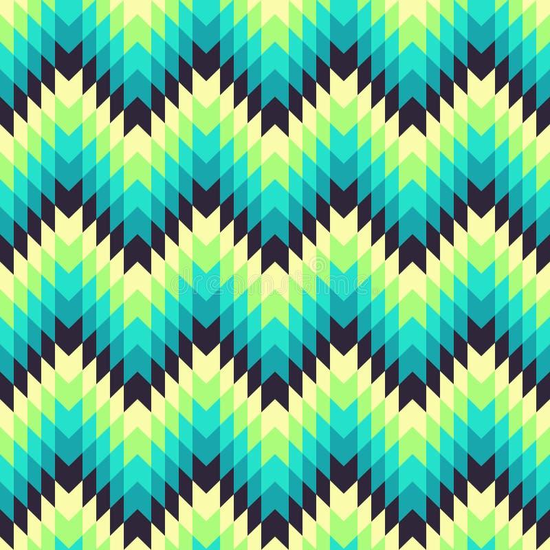 Azteeks naadloos patroon vector illustratie
