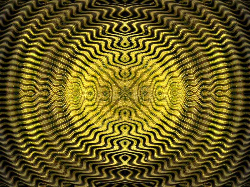 Azteekse zonachtergrond vector illustratie