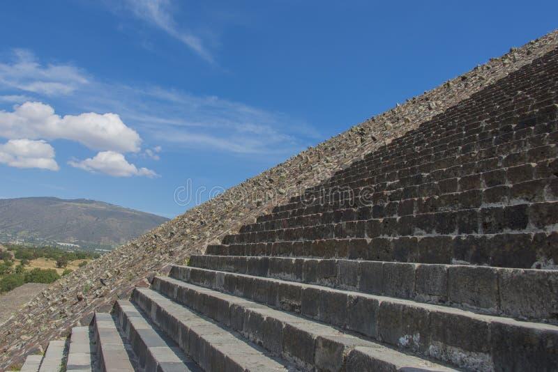 Aztek ruiny w środkowym Mexico fotografia royalty free