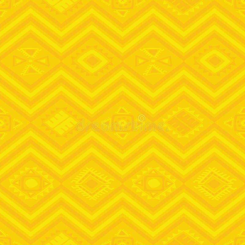 Azteka bezszwowy wzór zdjęcie stock