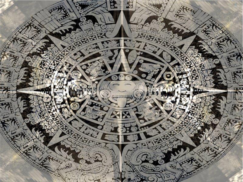 aztekisch lizenzfreie stockbilder