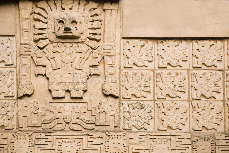 Aztekischer Hintergrund lizenzfreies stockfoto