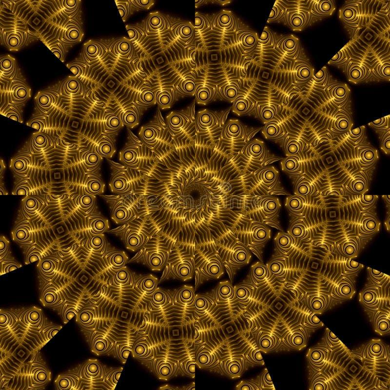 Aztekischer Schatz stock abbildung