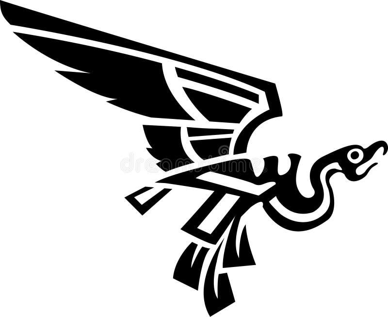 Aztekischer Vogel