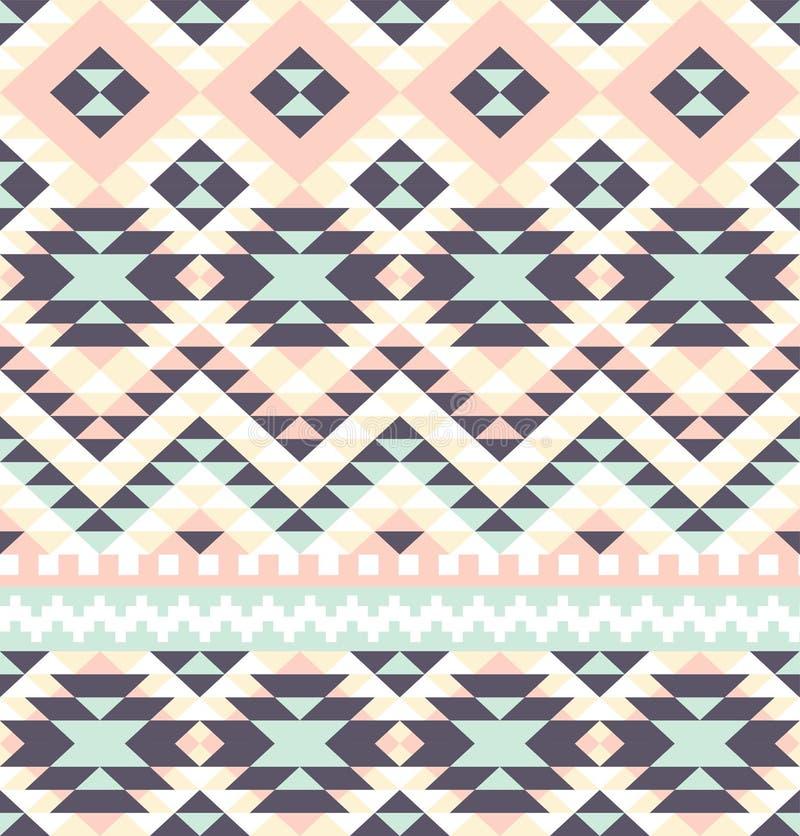 AZTEKISCHES Muster vektor abbildung