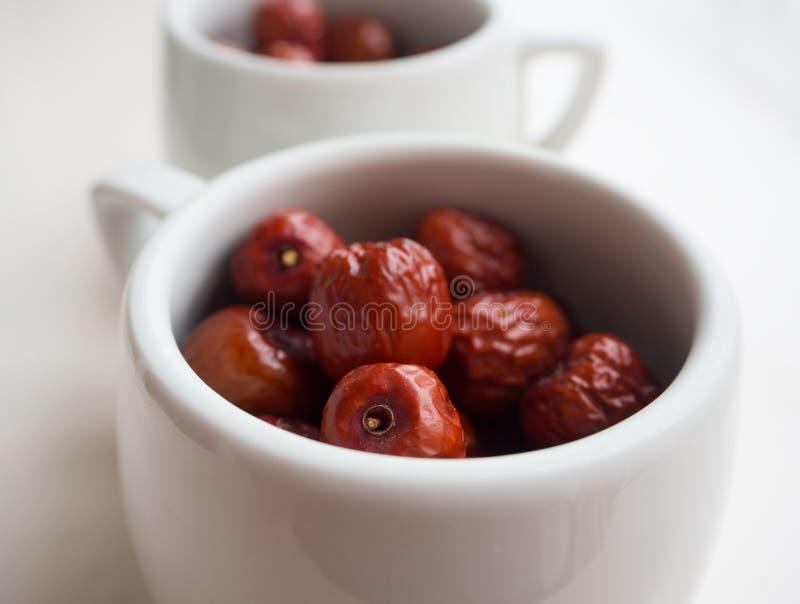Azufaifa china - frutas muy útiles en Grecia fotografía de archivo libre de regalías