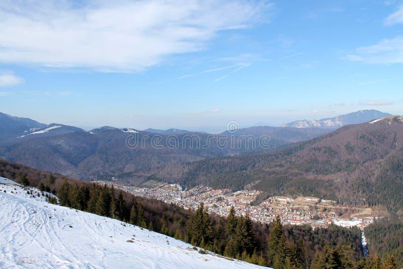 Azuga Romania fotografia stock libera da diritti