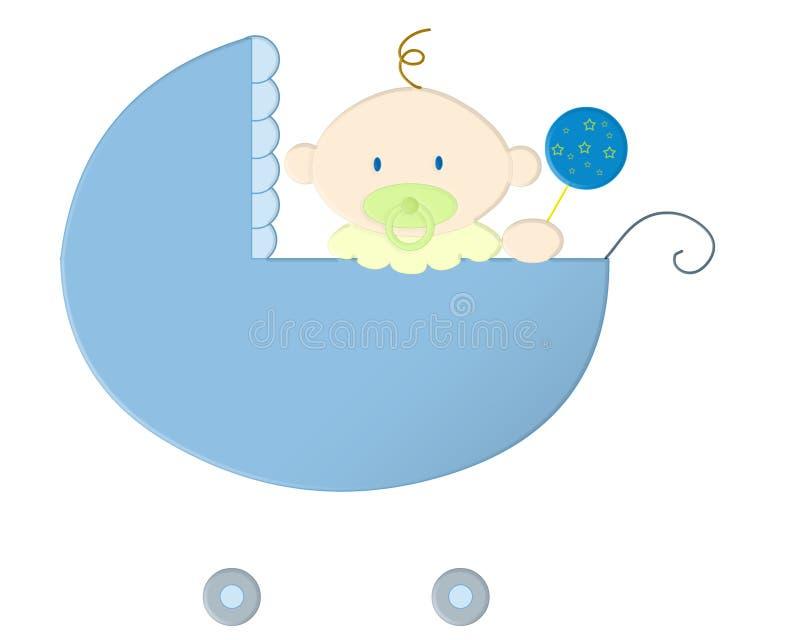 Azuis de bebê ilustração royalty free