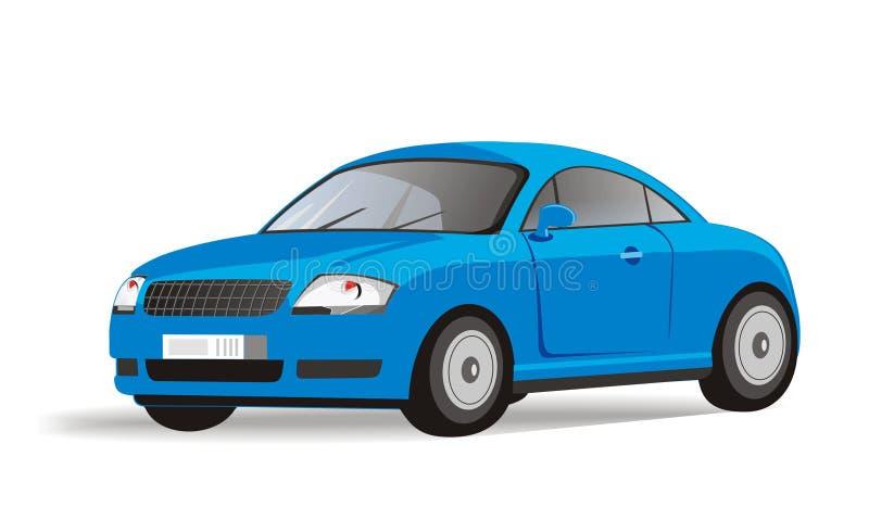 Azul ilustração do vetor